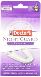 Brand New In Box The Doctor's Night Guard Classic Mouth Guard