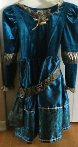 Princess Merida Dress - size small