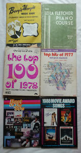 6 music books from Boogie-Woogie to the '80s Oakville / Halton Region Toronto (GTA) image 1