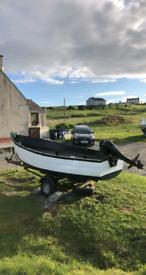 Seaking 15 fishing boat