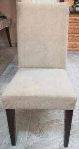 White Dinning Room Chairs (set of 4)