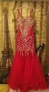 Marvelous red prom/party dress