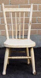 Child's Chair Circa 1930's