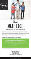 Math Edge Classes at Sylvan!