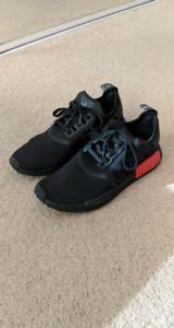 Adidas NMD R1 Core Black & Lush Red (US 10)
