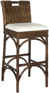 Safavieh Fox Fremont Bar Stool, Brown