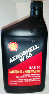 W65 Aeroshell Oil, case of 12