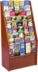 LOOKING FOR: magazine or card racks
