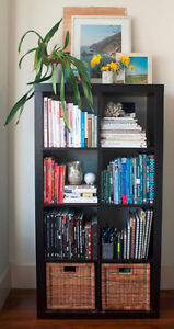 Ikea Expedit bookshelves (two)