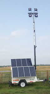 Solar light towers for rent $1000/Month