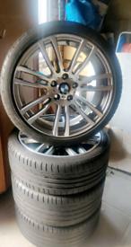 "Genuine 403 BMW M Sport 19"" alloy wheels, F30/F31/F32/F33"