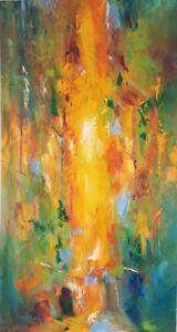 "28″ x 52″ Original Oil Painting ""My Soul"""