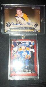 Bobby Orr Autograph and Connor Mcdavid RC