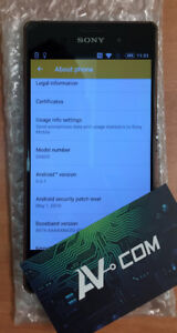 Sony Xperia Z3 Bronze 16GB Fido with WARRANTY