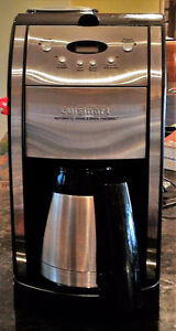 Cuisinart automatic grind and brew thermal coffee maker.