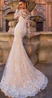 Vendo abito da sposa Sirena pizzo nuovo taglia 42