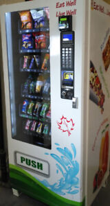 Two combo vending machines for sale