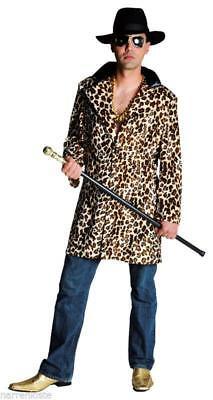 Disco 80er Jahre Anzug Kostüm Gangster Ganove Disco Party Pop Star Leopard - Leopard Anzug Kostüm