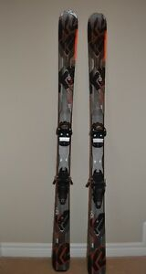K2 AMP Rictor 82XTi - 163 cm with Marker Jester Bindings