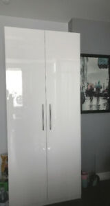 Brand new high gloss white lacquer cabinet for sale
