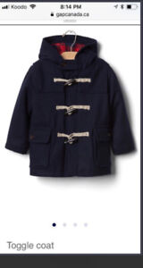NWT baby gap toggle jacket 12-18 months