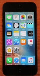 Apple iPhone 5 16Gb, sur réseau de Bell - $115