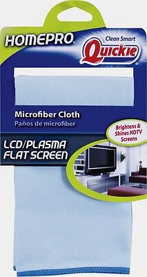 QUICKIE Home Pro Microfiber ELECTRONIC SCREEN Cleaning Cloth TV Computer Phones!