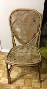 Antique cane chair   Smoke & pet free home Kingston Kingston Area image 1