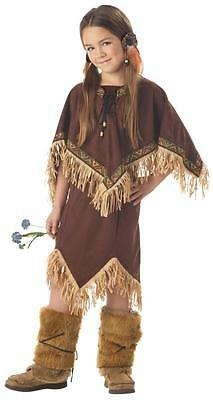 American Indian Princess Wildflower Child Costume