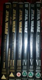 Star Wars DVD Set for sale  Durham, County Durham
