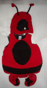 The Children's Place Lady Bug Halloween Costume Size 6-12 Months