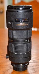 For sale Nikon ED  AF Nikkor 80-200mm 1:2.8 D Excellent conditio