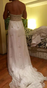 Stunning Silk Wedding Dress - BRAND NEW