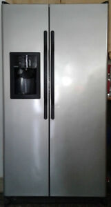 Hotpoint Fridge - side by side - silver
