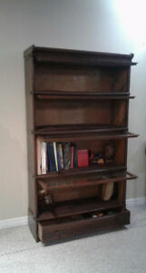 Antique Macey Oak Sectional Bookcase 5 sections