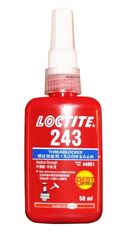 LOCTITE 243 MEDIUM STRENGTH THREADLOCK BEST EVER METAL ADHESIVE 50 ML Adhesives, Sealants & Tapes