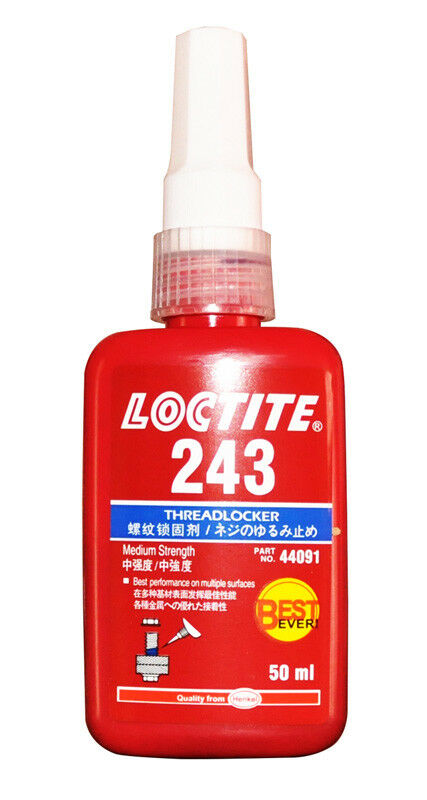 LOCTITE 243 MEDIUM STRENGTH THREADLOCK BEST EVER METAL ADHESIVE 50 ML