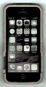 iPHONE 5 16 Gb Black with SPIKE physical keyboard case