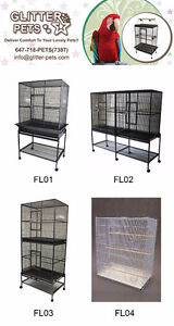 Premium Bird Cage Parrot Cage Parrot Stand Bird Toy for Sale Mississauga / Peel Region Toronto (GTA) image 3