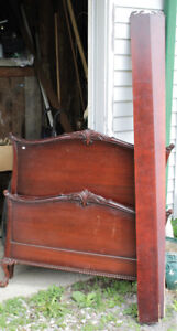 Solid Wood Antique Single/Twin Bed Frame - 2 Available