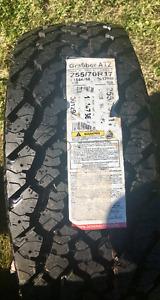 2 Grabber AT2 tires