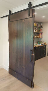 Complete sets of easy to install soft close barn door hardware St. John's Newfoundland image 4