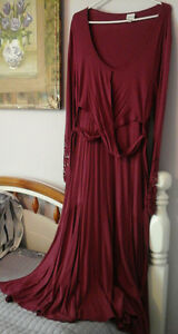 TOGETHER brand maroon colored dress - NEW PRICE - 30.00