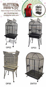 Premium Bird Cage Parrot Cage Parrot Stand Bird Toy for Sale Mississauga / Peel Region Toronto (GTA) image 2
