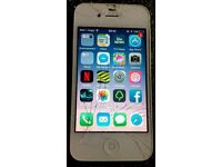 iPhone 4s unlocked (cracked screen)