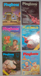 17 PLAYBOAR Magazines, 1981/1982, like new condition