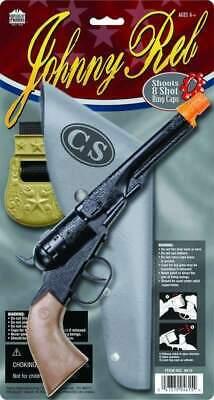 8 Ring Shot Cap Gun Replica Diecast Western Pistol Revolver Cowboy Prop Toy