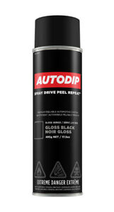 Autodip Spray Wrapping Can (GLOSS BLACK