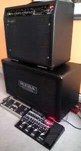 Mint Mesa Boogie Mark V Combo and Mint Extension Mesa 2x12 Cab London Ontario image 1