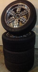 22 Inch TyFun Wheels/Sumitomo HTR Sport P305/45R22 118H M+S